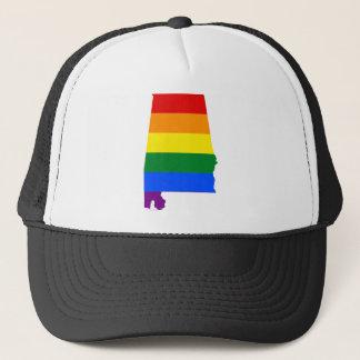 Boné Bandeira de Alabama LGBT