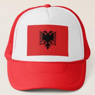 Boné Bandeira de Albânia - Flamuri mim Shqipërisë