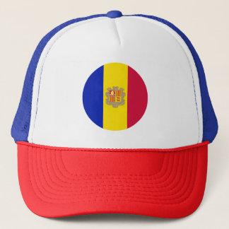 Boné Bandeira de Andorra