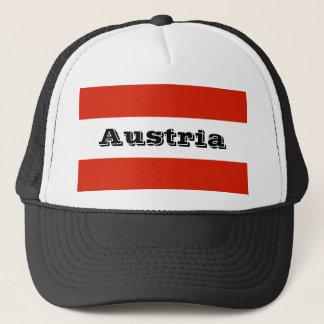 Boné Bandeira de Áustria