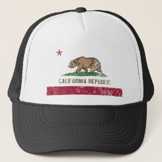 Boné Bandeira de Califórnia afligida