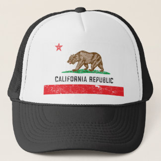 Boné Bandeira de Califórnia do vintage