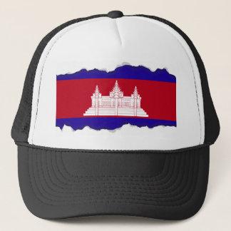 Boné Bandeira de Cambodia