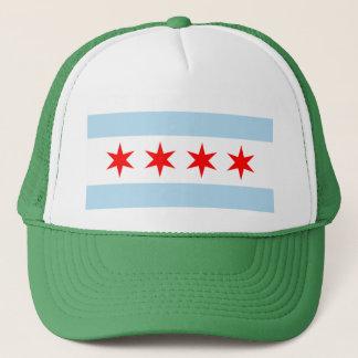 Boné Bandeira de Chicago