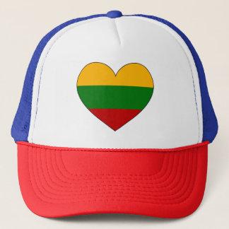 Boné Bandeira de Lithuania simples