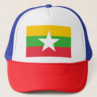 Boné Bandeira de Myanmar
