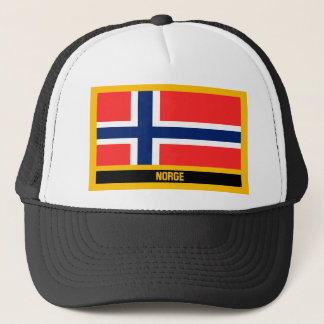 Boné Bandeira de Norge