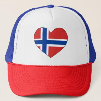 Boné Bandeira de Noruega simples