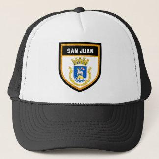 Boné Bandeira de San Juan