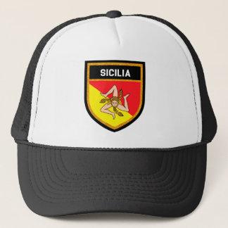 Boné Bandeira de Sicilia