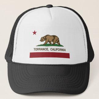 Boné bandeira de torrance Califórnia