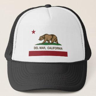 Boné bandeira Del Mar de Califórnia