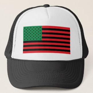 Boné Bandeira do afro-americano - preto e verde
