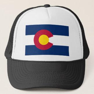 Boné bandeira do chapéu de Colorado
