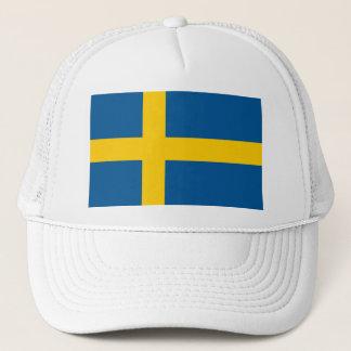 Boné Bandeira do chapéu do camionista da suecia