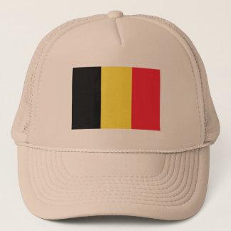 Boné Bandeira do chapéu do camionista de Bélgica