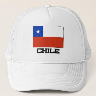 Boné Bandeira do Chile