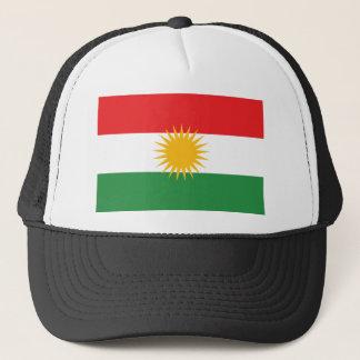 Boné Bandeira do Curdistão; Curdo; Curdo