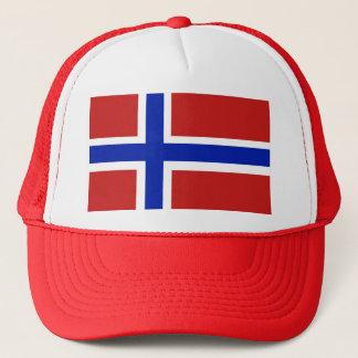 Boné Bandeira do escandinavo de Noruega
