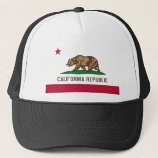 Boné Bandeira do estado de Califórnia