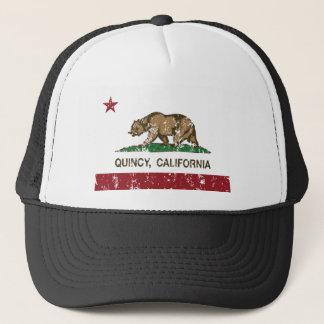 Boné bandeira do estado de quincy Califórnia