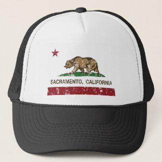 Boné bandeira do estado de sacramento Califórnia