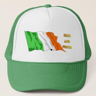Boné Bandeira do irlandês do Dia de São Patrício