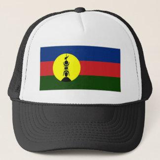 Boné Bandeira do Local de Nova Caledônia Kanaky