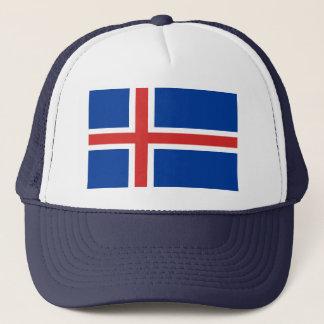Boné Bandeira do mundo de Islândia