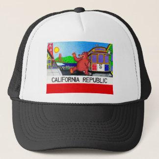 Boné Bandeira do urso de San Francisco Califórnia
