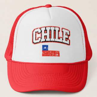 Boné Bandeira do vintage do Chile
