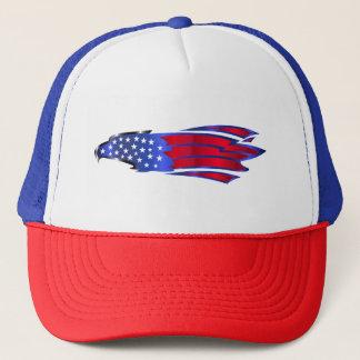 Boné Bandeira dos Estados Unidos Eagle