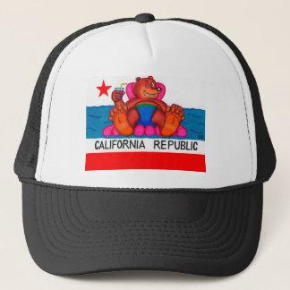 Boné Bandeira dos pés do urso de Califórnia