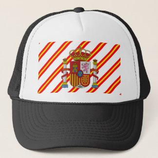 Boné Bandeira espanhola das listras