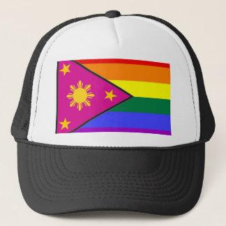 Boné Bandeira filipina do orgulho de GLBT