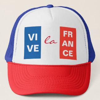 Boné Bandeira francesa de France do La de Vive