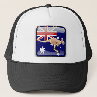 Boné Bandeira lustrosa australiana