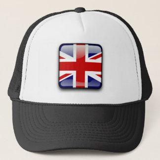 Boné Bandeira lustrosa britânica