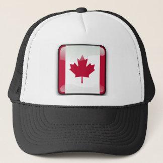 Boné Bandeira lustrosa canadense