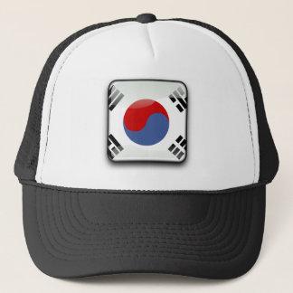 Boné Bandeira lustrosa coreana