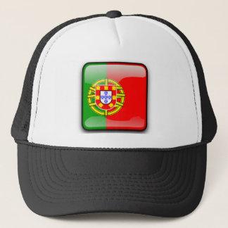 Boné Bandeira lustrosa de Portugal