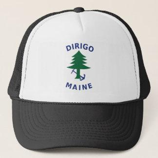 Boné Bandeira mercante e marinha de Maine