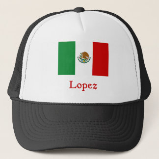Boné Bandeira mexicana de López