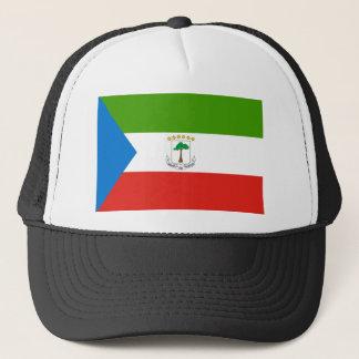 Boné Bandeira nacional do mundo da Guiné Equatorial