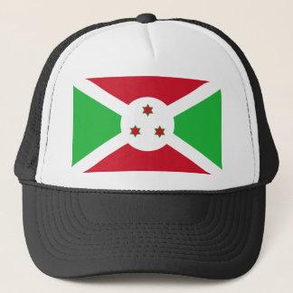 Boné Bandeira nacional do mundo de Burundi
