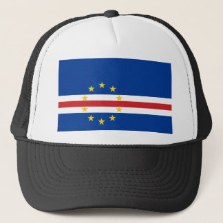 Boné Bandeira nacional do mundo de Cabo Verde