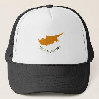 Boné Bandeira nacional do mundo de Chipre