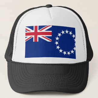 Boné Bandeira nacional do mundo de Cook_Islands