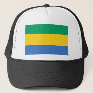Boné Bandeira nacional do mundo de Gabon
