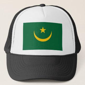 Boné Bandeira nacional do mundo de Mauritânia